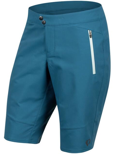 PEARL iZUMi Summit fietsbroek kort Dames blauw